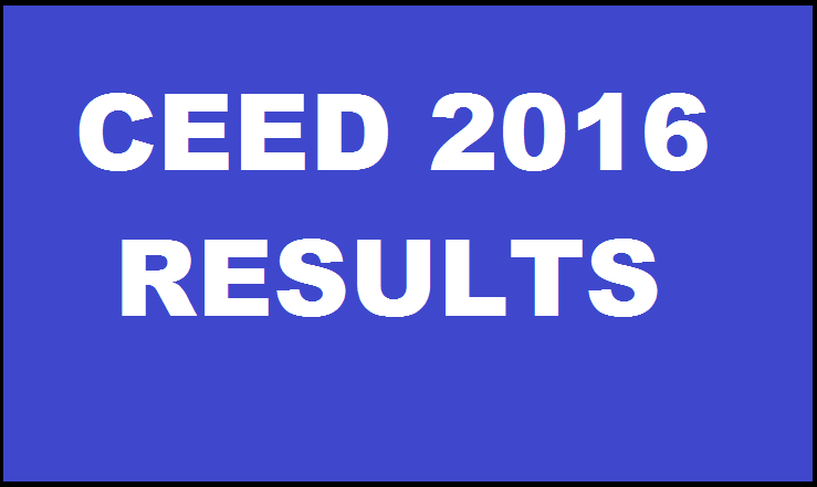 *Publish on 15th Jan* CEED 2016 Results: Check Common Entrance Examination for Design Results & Download Score Card From 22nd January