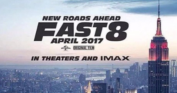 First Poster of Fast and Furious 8' Released  Race Start in New York Streets