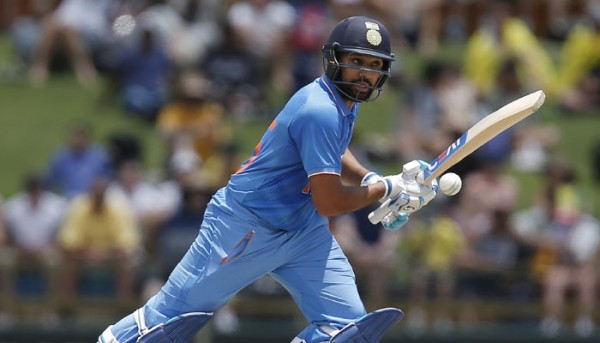 Half-century for Rohit
