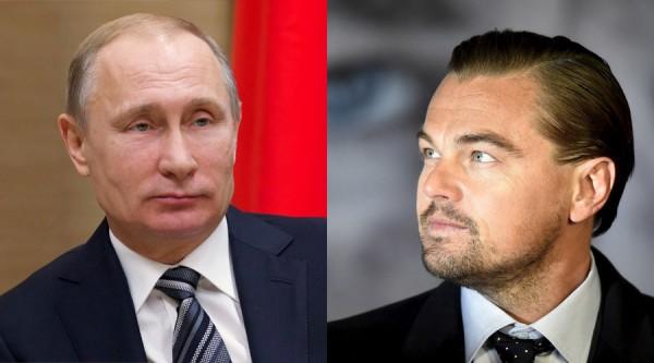 'I would love to play Vladimir Putin' says Leonardo DiCaprio