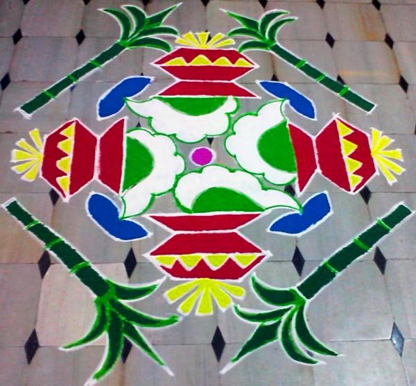 Makar Sankranthi 2016 Rangoli Designs (35)