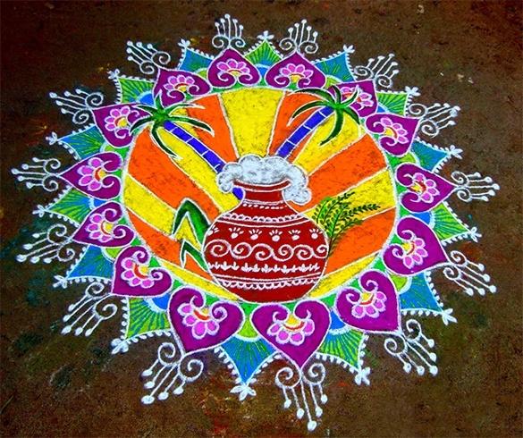 Makar Sankranthi 2016 Rangoli Designs (40)