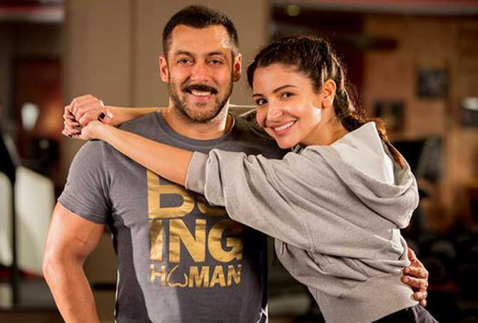 Official Anushka Sharma is the leading lady in Salman Khan's Sultan