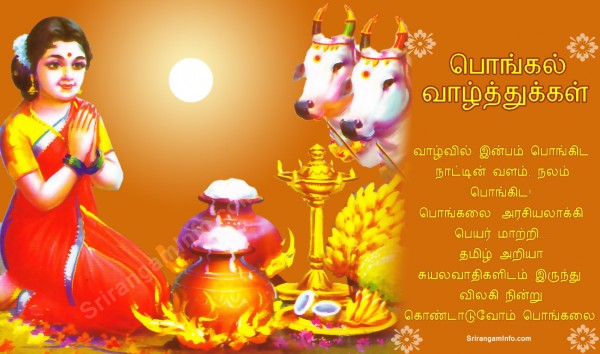 Famous Pongal SMS in English Pictures for free download