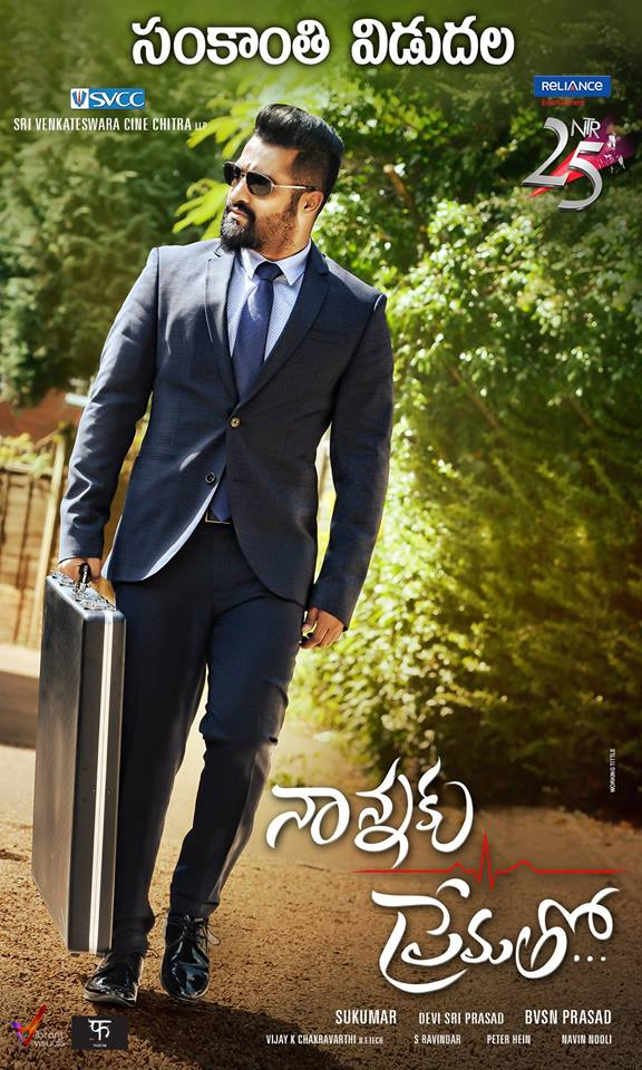 Poster: NTR's Nannaku Prematho Released Date Confirmed