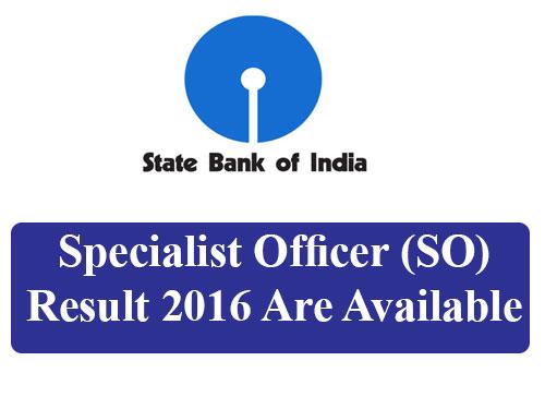 sbi-Specialist-Officer-Result-2016