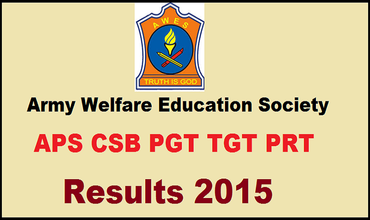 AWES APS CSB Results 2015