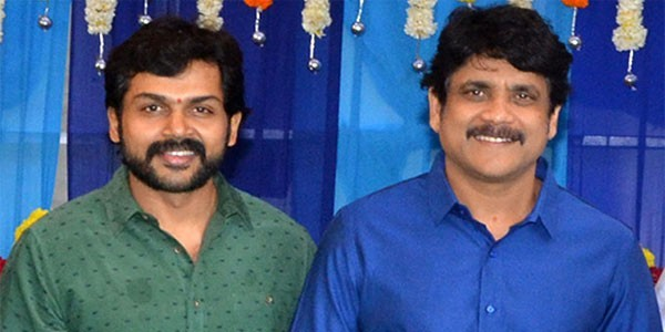 Actor Kaarthi Heap Praises On Nagarjuna