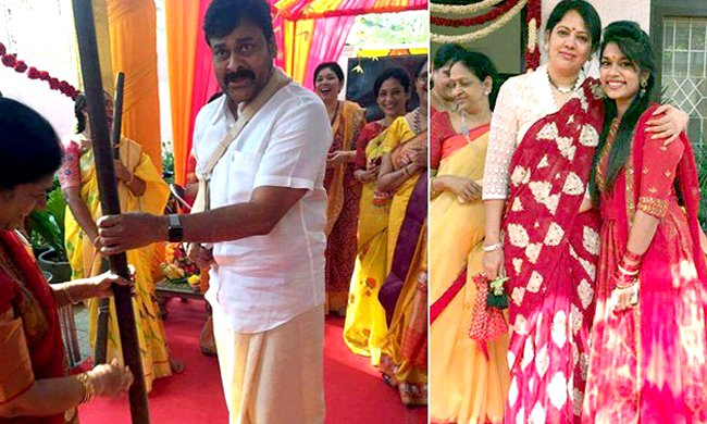 Chiranjeevi's daughter Srija set to marry her Childhood Friend!
