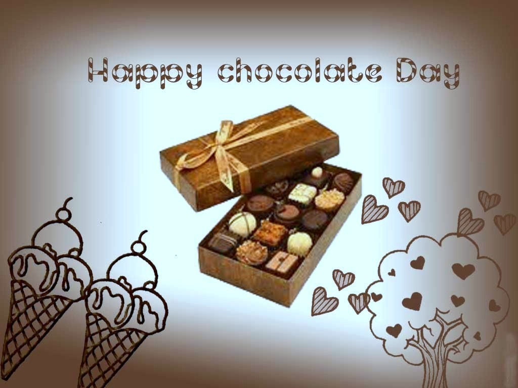 Happy Chocolate Day HD Wallpapers, Images, Pictures, Greeting Cards, gif images, background images, cover pics, Tomeline covers.