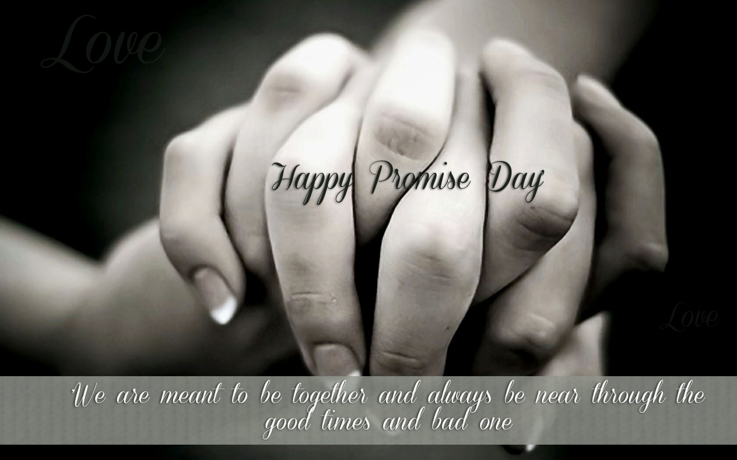 Happy Promise day Images with quotes (1)