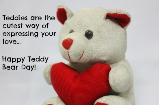 Happy Teddy Day 2017 Images pictures with quotes