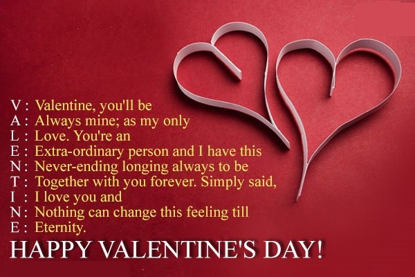 Happy Valentine's Day 40 Quotes Images SMS Messages Love Wishes Gorgeous Happy Valentines Day Husband Quotes