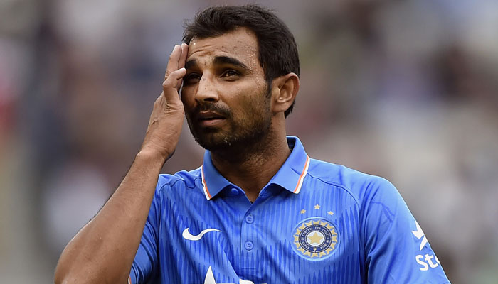 Indian Pacer Mohammad Shami ruled out of Asia Cup