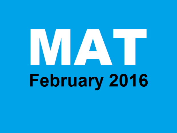 MAT Answer Key 2016  AIMA MAT 7th Feb Paper Based Test Analysis
