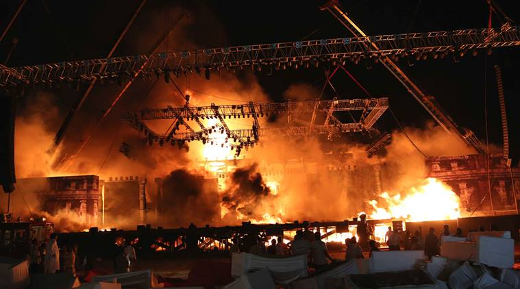 Make In India Event In Mumbai : Maharashtra Govt Orders Probe Into Fire Accident