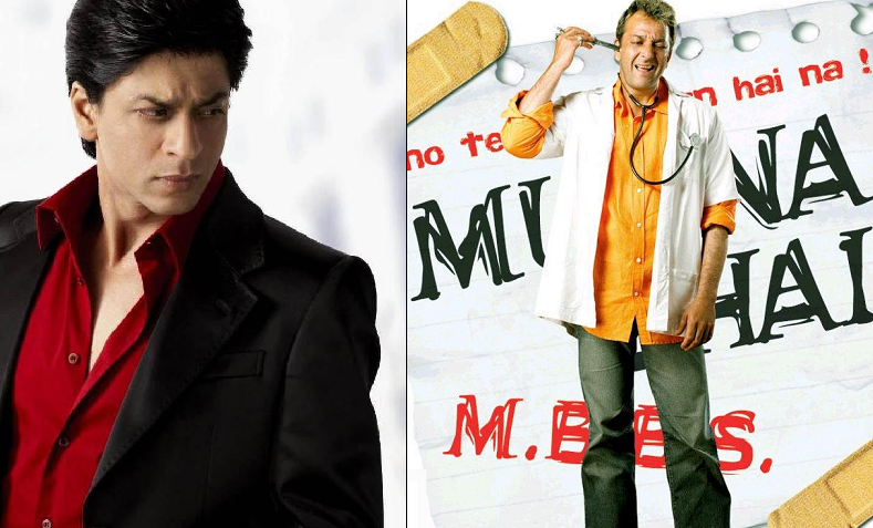 SRK rejected Munnabhai MBBS
