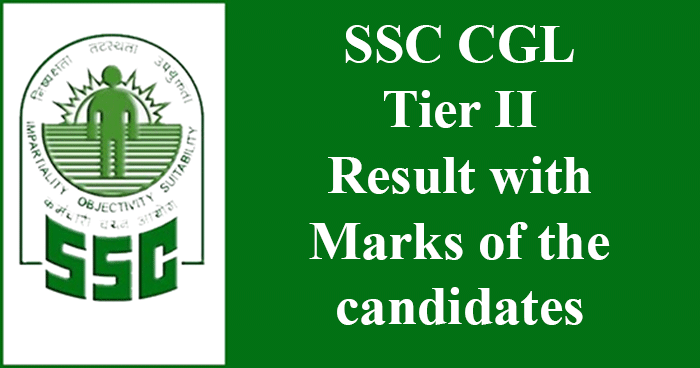 SSC CGL 2015 Tier II result