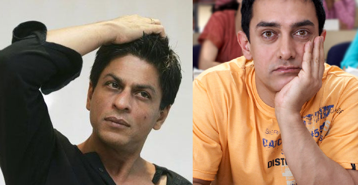 Shahrukh khan rejected Aamir's 3 idiots