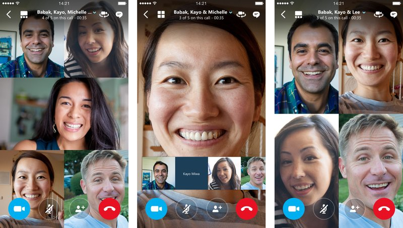 Skype group video calls are now free on iOS and Android