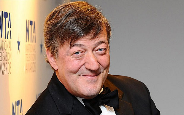 Stephen Fry QuitsTwitter after Baftas 'bag lady' criticism