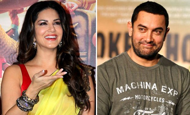 Sunny Leone doing on the sets of Aamir Khan's Dangal, What's Up