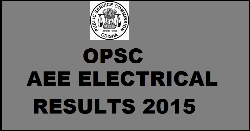 OPSC AEE Results 2016