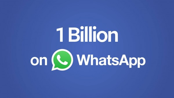 WhatsApp Hits One Billion Monthly Users