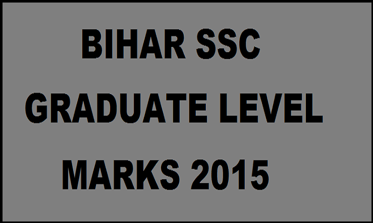 Bihar SSC Graduate Level Marks Score Card 2015| Download BSSC PT OMR Sheet @ bssc.bih.nic.in
