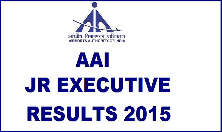 AAI Jr Executive Results 2015 Declared @ www.aai.aero| Check List of Candidates Selected For Interview