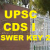 UPSC CDS I Answer Key 2016| Download For 14th Feb Exam With Cutoff Marks @ upsc.gov.in