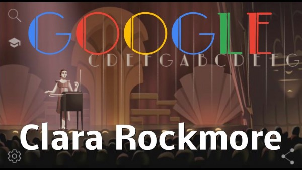 Google Doodle celebrates Theremin player Clara Rockmore 105 birth anniversary