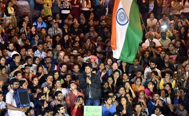 Kanhaiya Kumar's awesome comeback speech at JNU  'We want freedom in India, not from India'