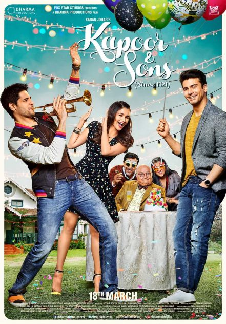 Kapoor And Sons Movie Review, Rating (3)