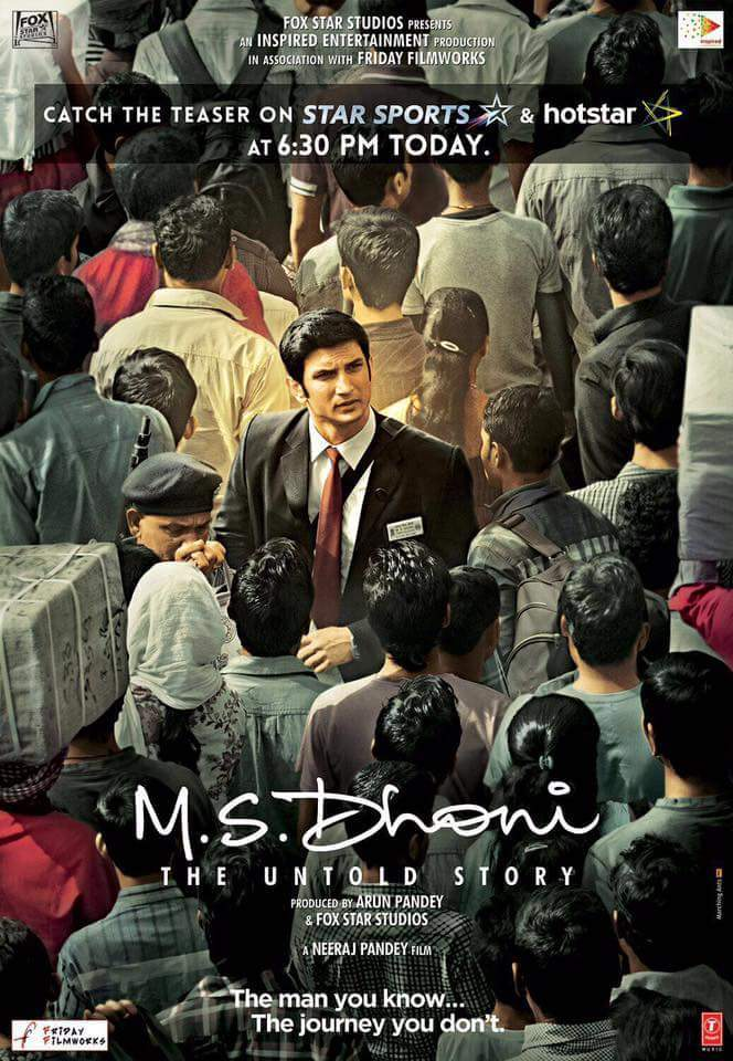 M S Dhoni The Untold Story Movie Teaser - Sushant Rajput, Kiara Advani_01