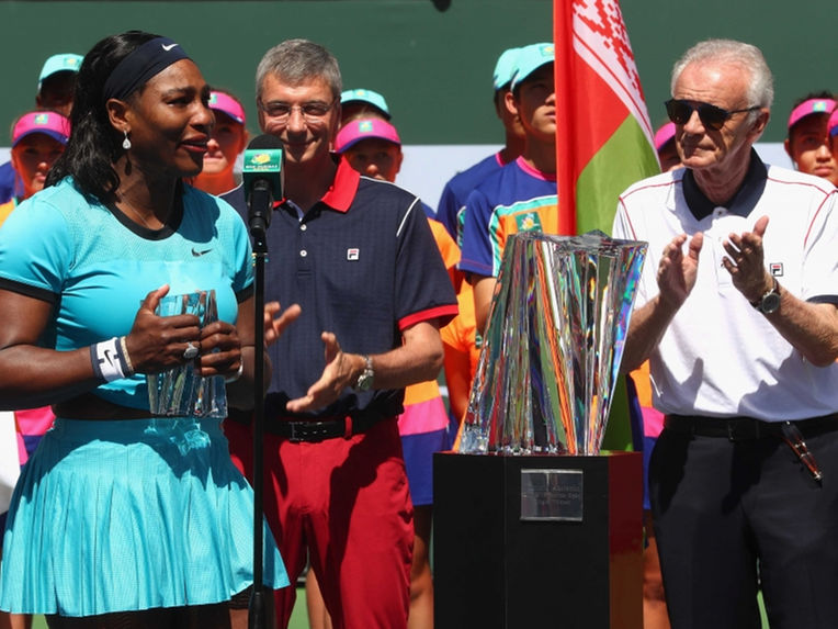Serena Williams Slams Sexist Comments by Raymond Moore
