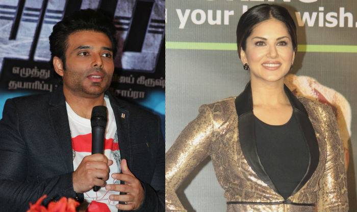 Sunny Leone and Uday Chopra just got into a 'plank off' Contest