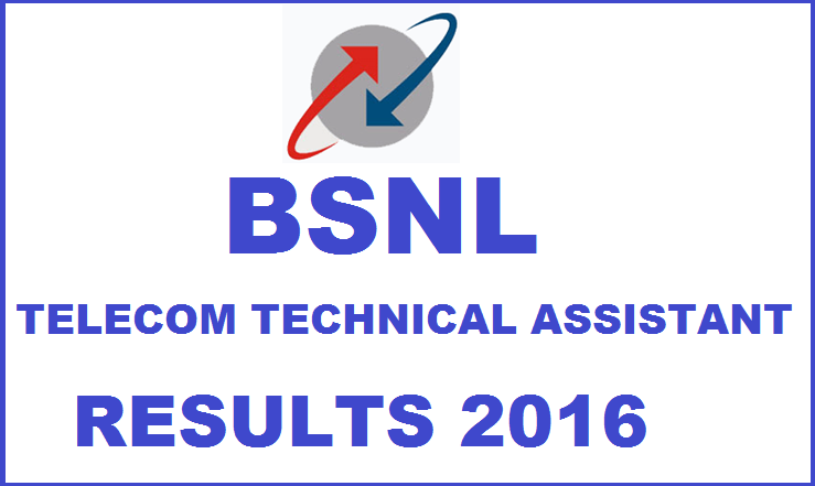 BSNL TTA Results 2016: Check Selected Candidates List @ bsnl.co.in