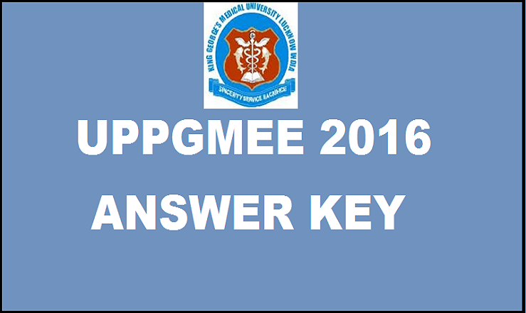 UPPGMEE 2016 Answer Key| Check Solutions With Cutoff Marks For 13th March Exam