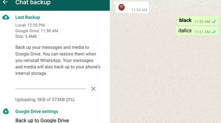 WhatsApp Now Gets Bold, Italics Text Formatting and File Sharing