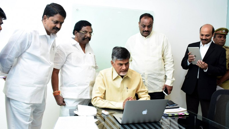 ap CM launched online vehicle registration system