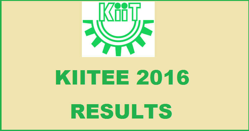 KIITEE Results 2016