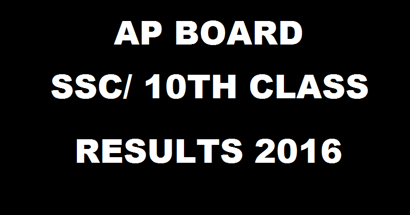 www.bseap.org AP SSC Results 2016| Check AP 10th Results Expected Date Here