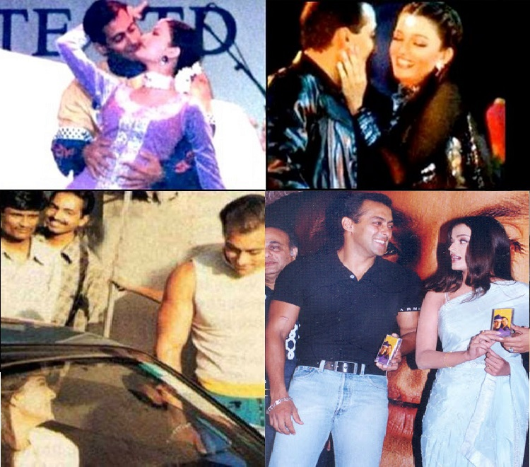Aishwarya Rai - Unseen Pictures Of Salman Khan With His Ex-Girlfriends (1)