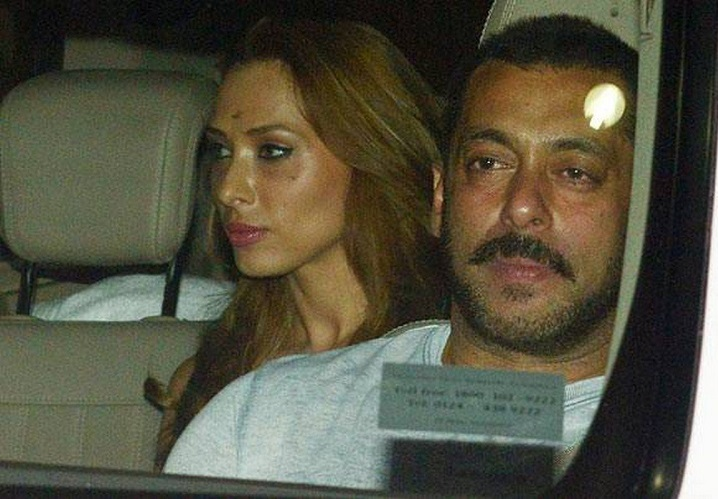 Iulia Vantur - Unseen Pictures Of Salman Khan With His Ex-Girlfriends (2)