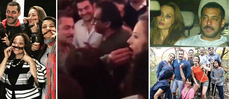 Iulia Vantur - Unseen Pictures Of Salman Khan With His Ex-Girlfriends