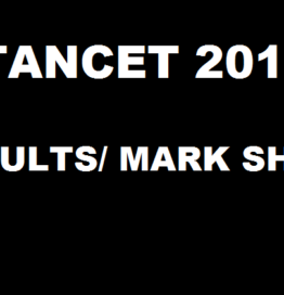 TANCET Result 2016 Declared @ www.annauniv.edu  Download Tamil Nadu CET Mark Sheet Here