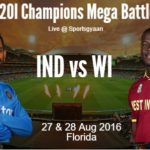 India vs WI 2nd T20 live score, squad, livestreaming, timings