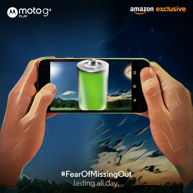 Moto G4 Play Mobile Flash sale starts Today at Amazon India @10 PM