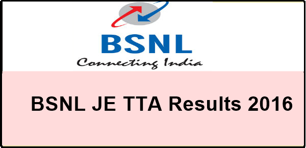 bsnl-je-results-2016